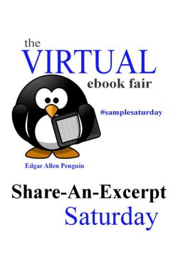 Image designed by author Tammie Clarke Gibbs for the weekly Virtual Ebook Fair, featuring Mishael Austin Witty and other authors