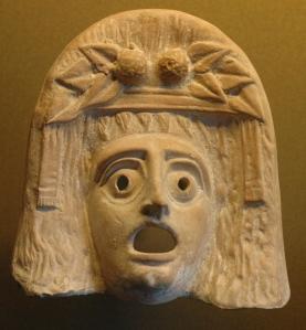 Ancient Greek mask of Dionysus.