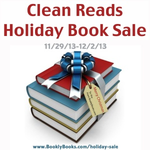 $100s off Books by various popular authors and an Amazon gift card giveaway at Bookly Books's Clean Reads Holiday Book Sale.