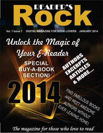 Image designed by author Tammie Clarke Gibbs for the Reader's Rock emagazine, featuring Mishael Austin Witty and other authors