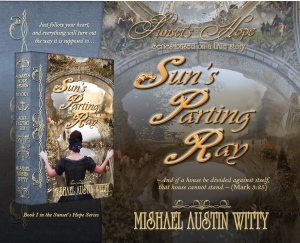 cover image for sun's parting ray by mishael austin witty