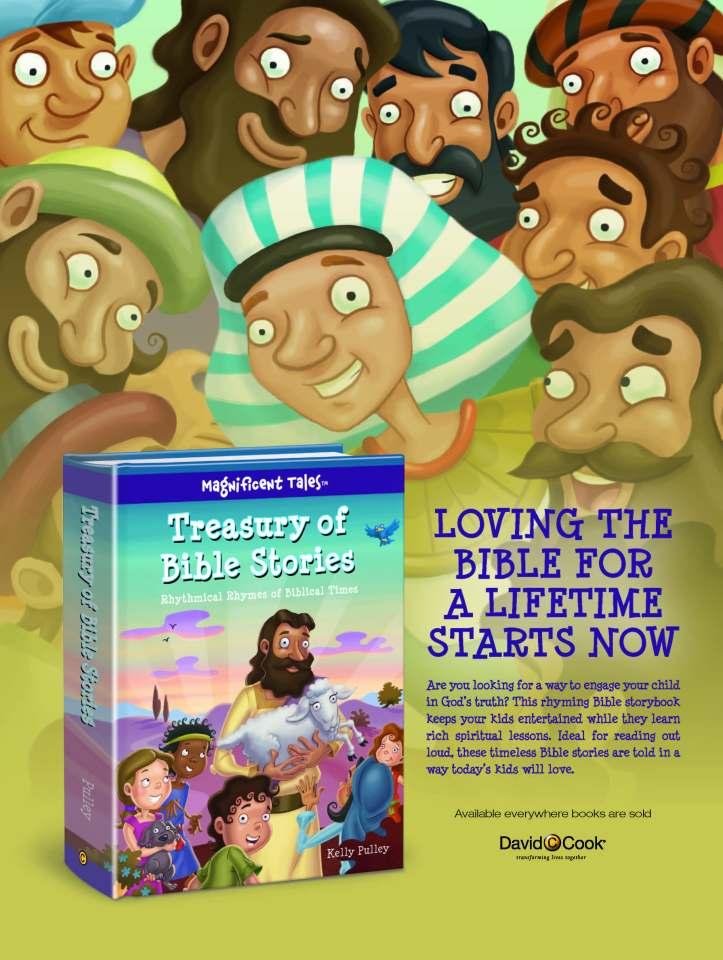 Treasury of Bible Stories one sheet (1)