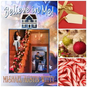 Believe in Me Christmas Collage