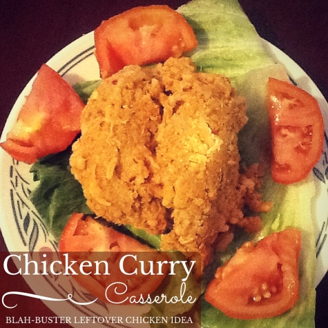 Chicken Curry Casserole