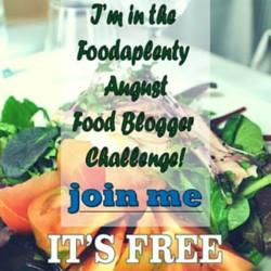 food blogger challenge