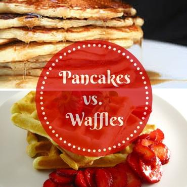 Pancakes vs. waffles (1)