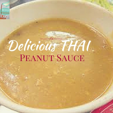 thai peanut sauce recipe