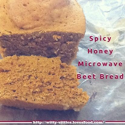 SpicyHoneyMicrowaveBeet Bread (2)