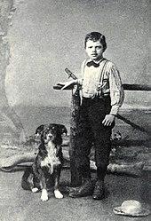 jack london and dog