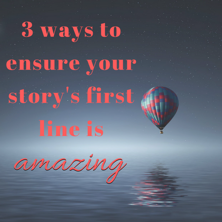 first line of your story