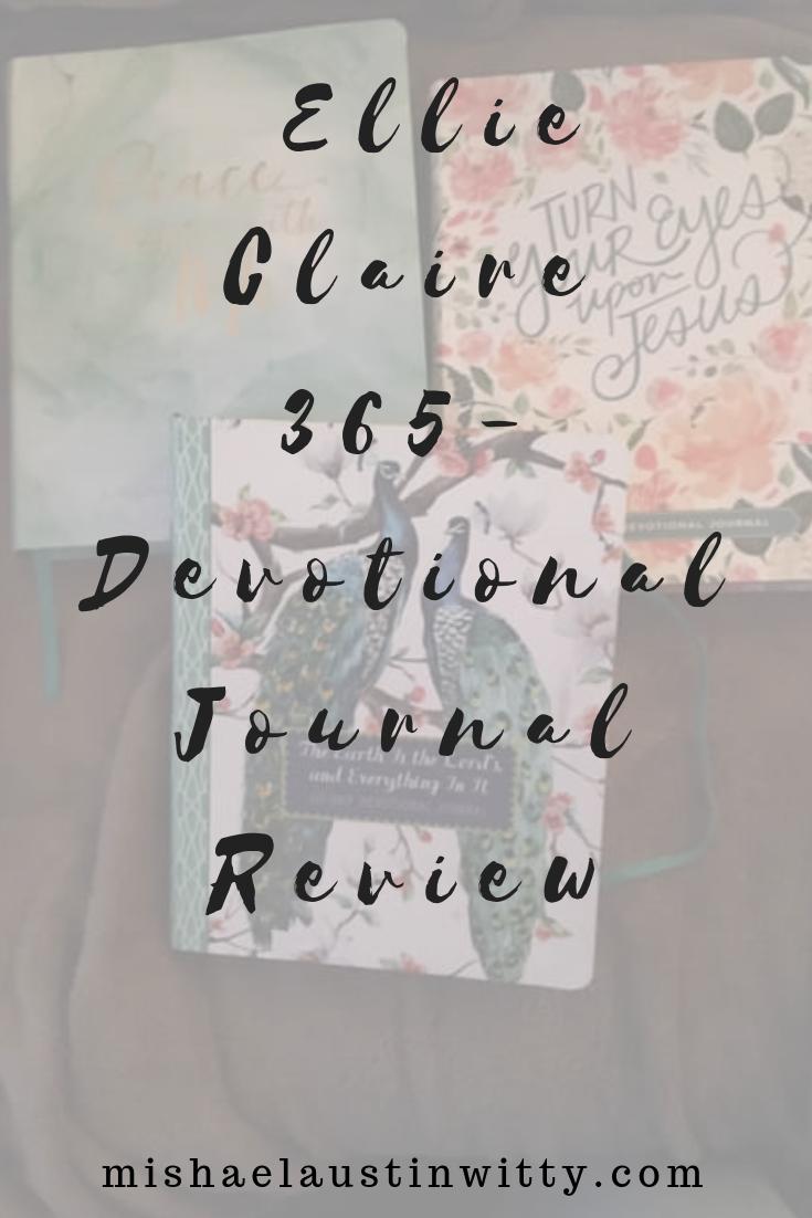 ellie claire devotional journal review