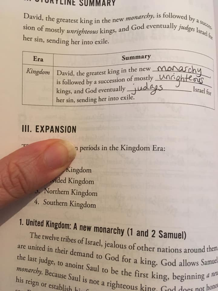 kingdomstorylinesummary